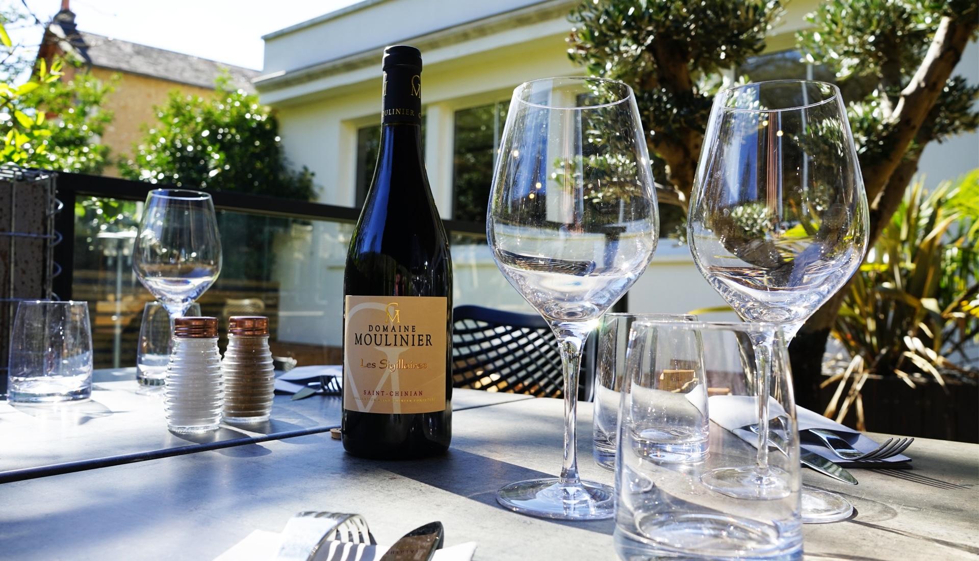 Restaurant carte des vins Poitiers